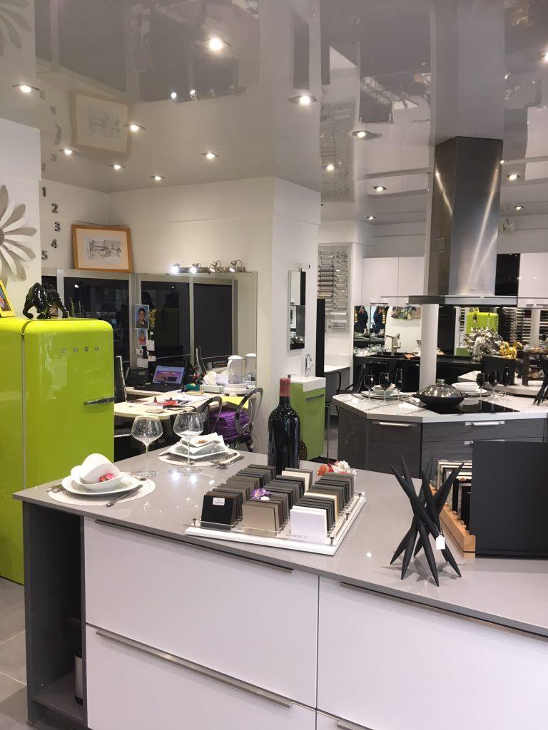 Showroom CB Création intérieur